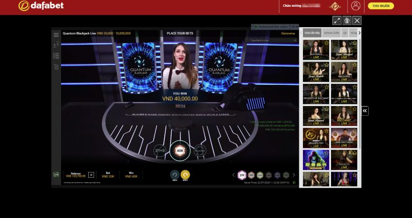 dafabet casino song bac online 2